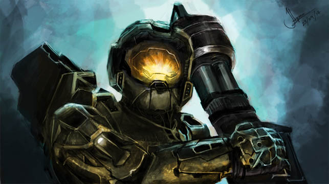 I wish I could look as badass as Master Chief by RapidDisillusion