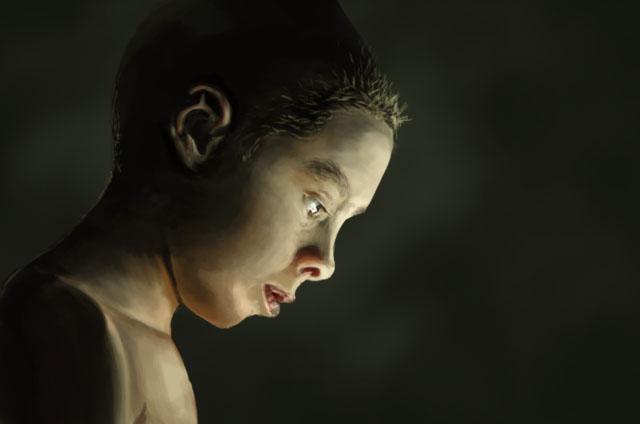 Boy Portrait Study by RapidDisillusion