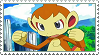 Chimchar Stamp by chelseasba