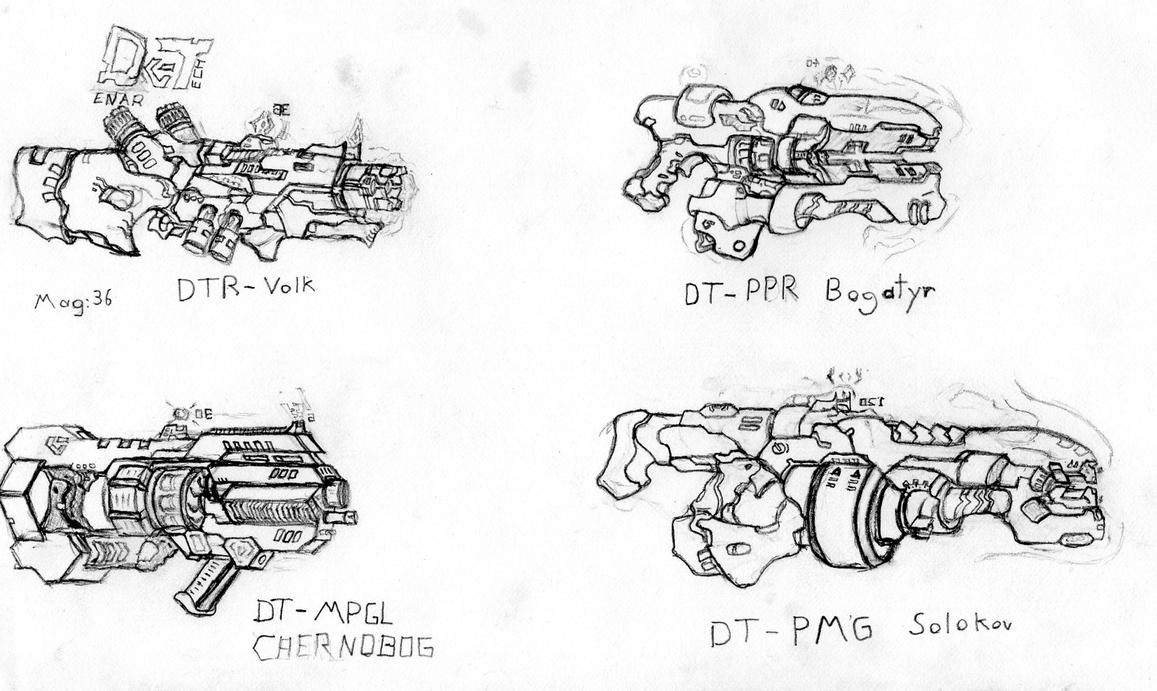 Denar Tech Weapon Sample by CryonIndustries