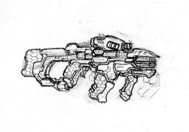 Cryodyne 'Korolev' Disruption Carbine by CryonIndustries