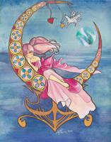 Princess ChibiMoon Nouveau by cyanineblu