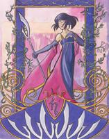 Princess Saturn Nouveau by cyanineblu