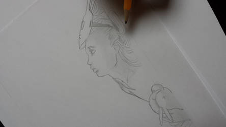 Pencil work by swayanouk