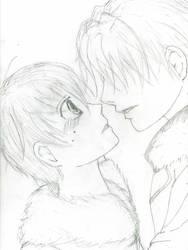 Tamaki x Haruhi by RoseSan