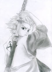 Toushiro - Bleach by RoseSan