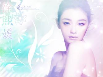 Barbie Hsu - Wallpaper by RoseSan