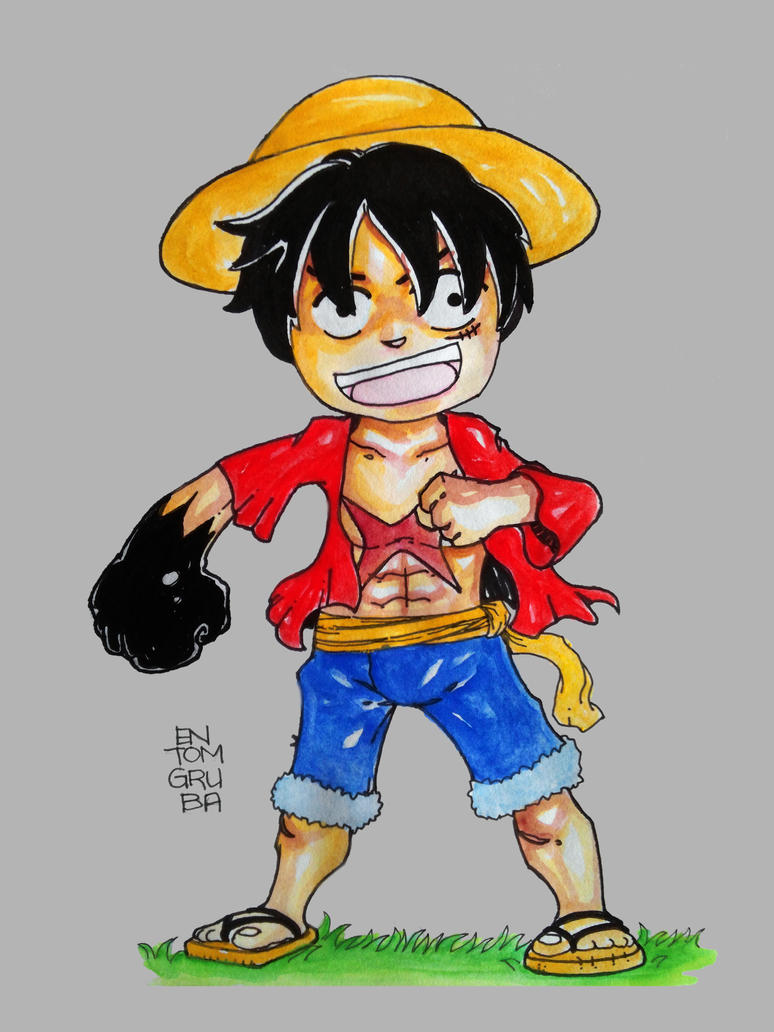 Luffy by entomgrubs