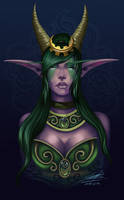 Ysera portrait by Arveriaturace