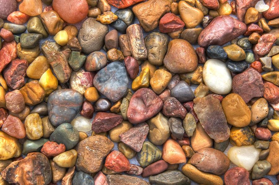 colorful rocks by DougitDesign