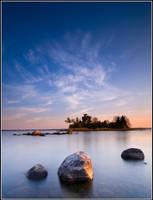 Bear Island morning by xedgerx
