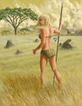 plains girl by xedgerx