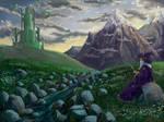 emerald castle by xedgerx