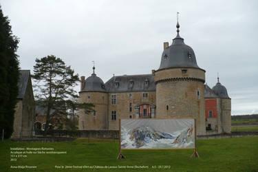 Invitation to Castle's Art festival by Anna-Maija
