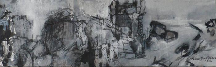 Ruines -a command work, detail 6 by Anna-Maija