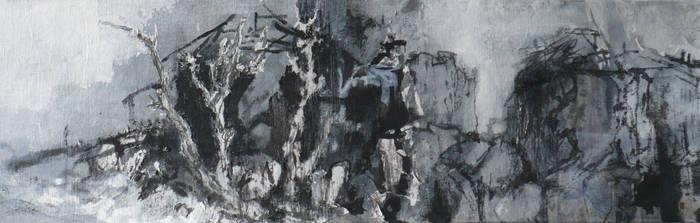 Ruines -a command work, detail 5 by Anna-Maija