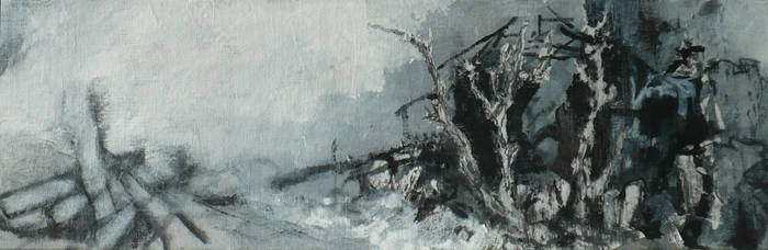Ruines -a command work, detail 4 by Anna-Maija