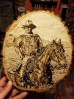 The Duke John Wayne  by FrancoBrasi