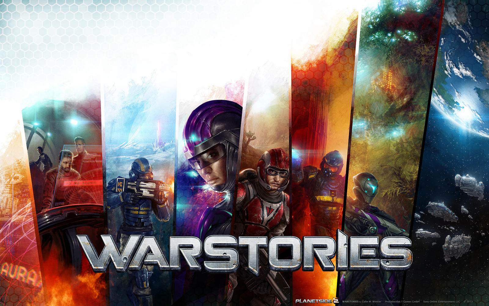 PlanetSide 2 WarStories I by WillhelmKranz