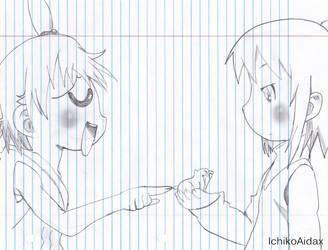 Futaba y Hitoha by IchikoAidax