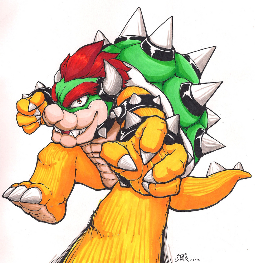the Koopa King by TOYspence