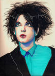 Without you.. Robert Smith Portrait