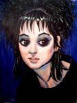 Lydia Deetz portrait