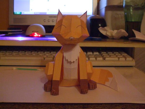 PaperCraft 3D Foxy by gabiman