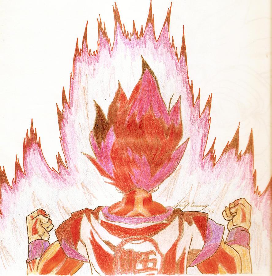 Goku Kaio-Ken by gokujr96