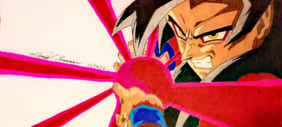 pictures of goku ssj4 kamehameha drawing www
