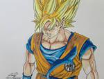 Goku's Super Saiyan Glare