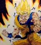 Beat Up Ssj Goku