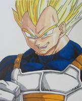 I am Super Vegeta! by gokujr96