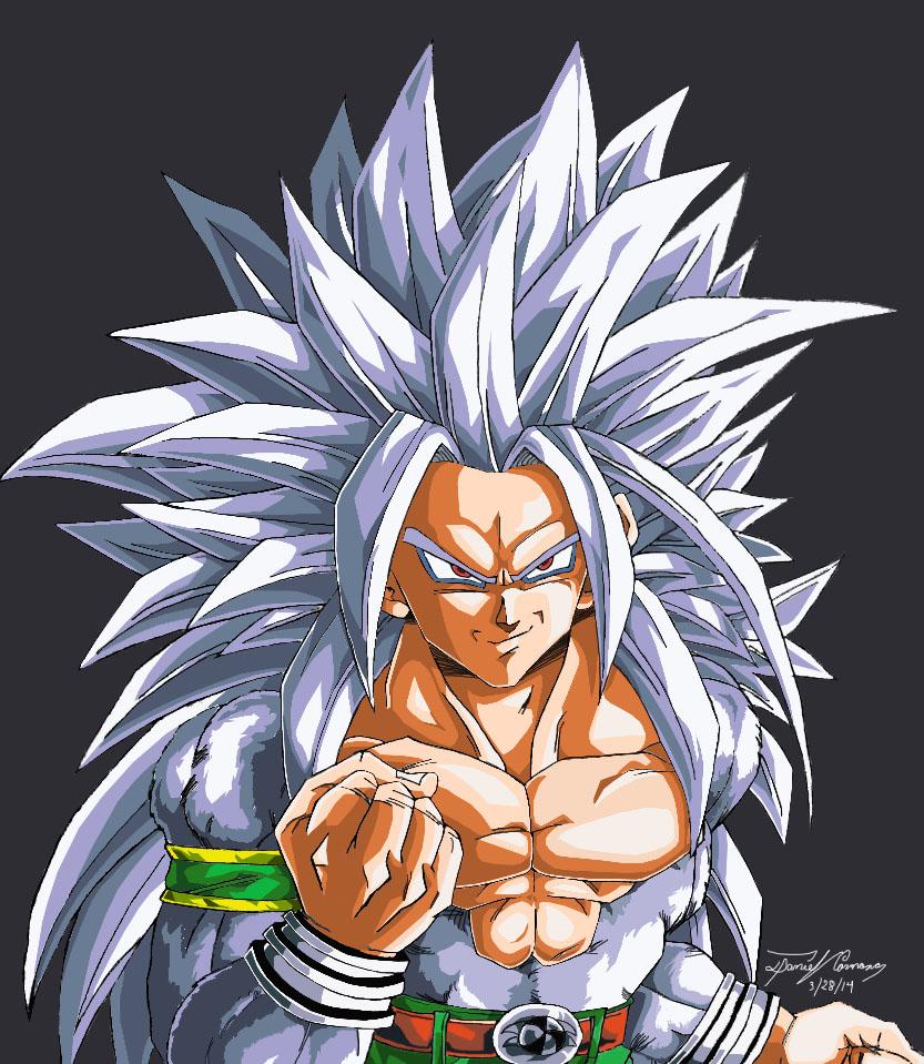 The Mighty Super Saiyan 5 By Gokujr96 On Deviantart
