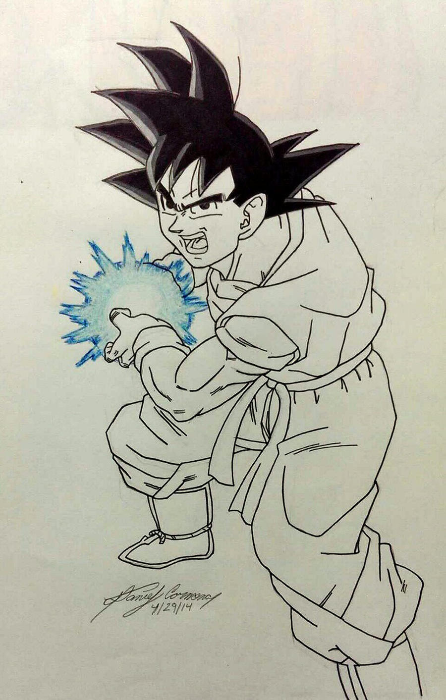 The Mighty Kamehameha by gokujr96