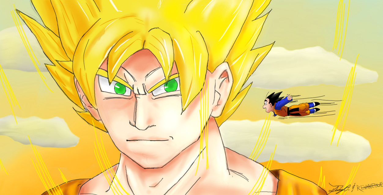 Collab with RevanEdge!! by gokujr96