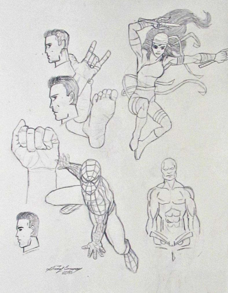 Sketch-dump by gokujr96