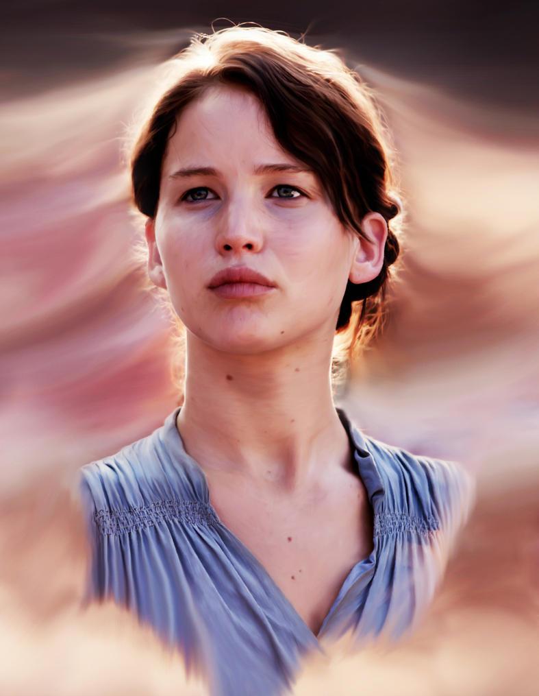 Katniss Everdeen by hellcatspangledshala