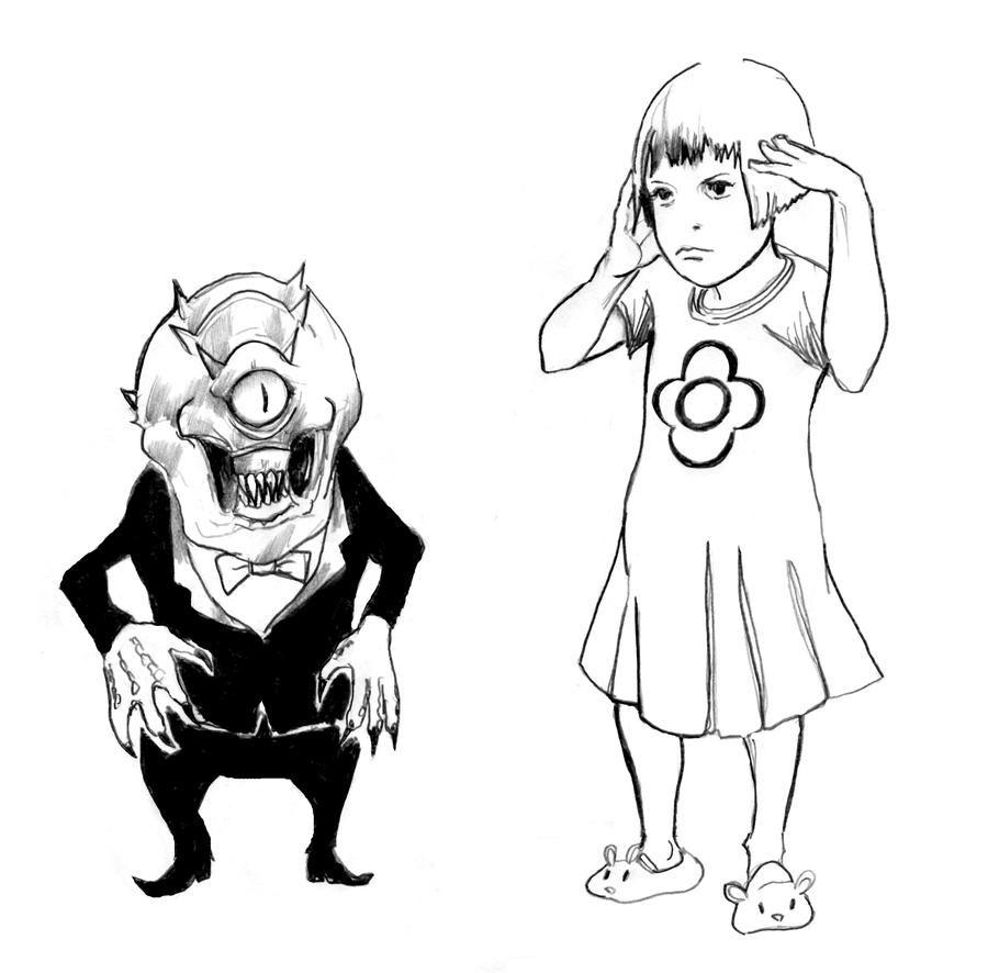 Girls and Monsters by cluedog