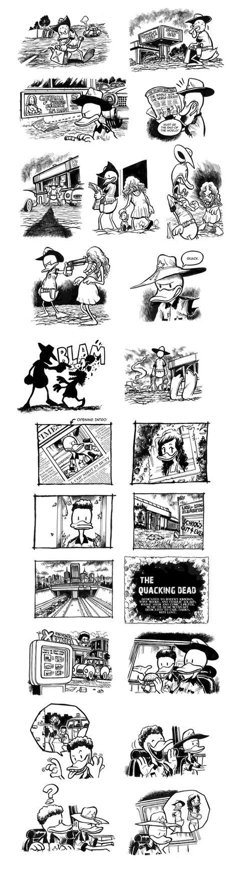The Quacking Dead Season 1 by cluedog