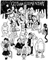 Frank Miller's Gotham Elementary by cluedog