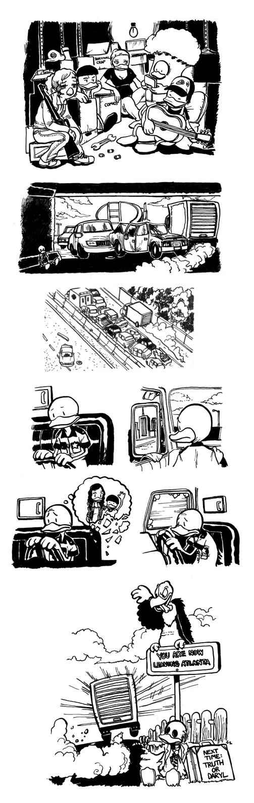 The Quacking Dead 4 Part 18 by cluedog