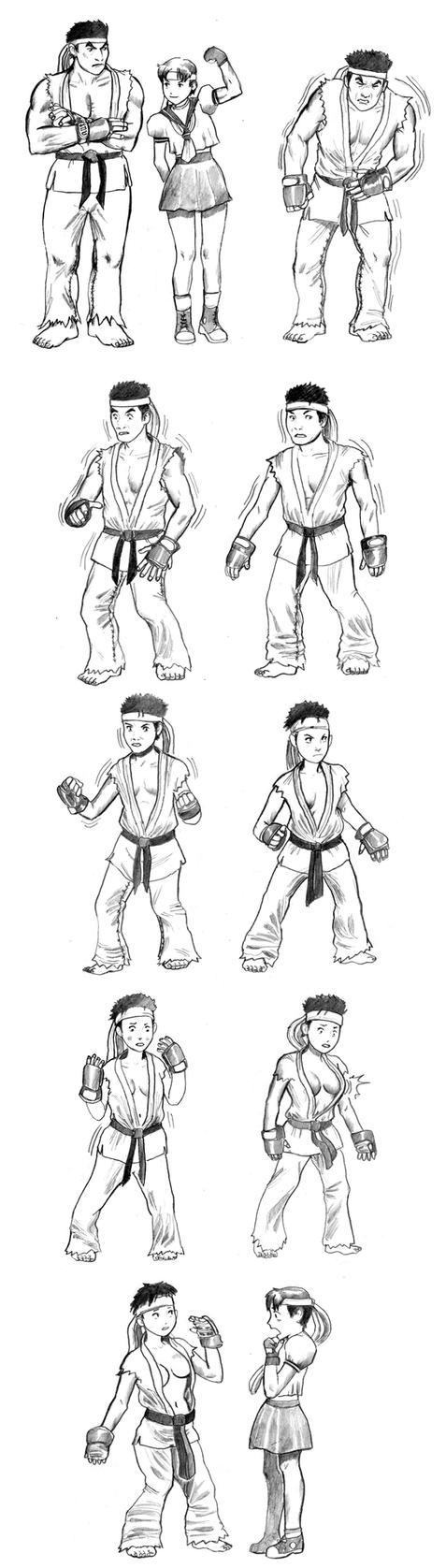 Ryu Snafu by cluedog