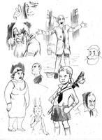 Eisner Studies 6 by cluedog