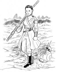 Rey of Hope by cluedog