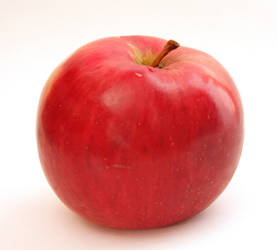 Red Apple by ManicHysteriaStock