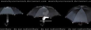 Old Black Umbrella Cut out 2