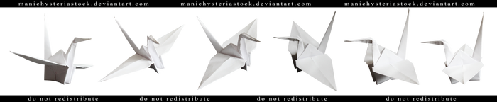 Paper Crane Cut Out
