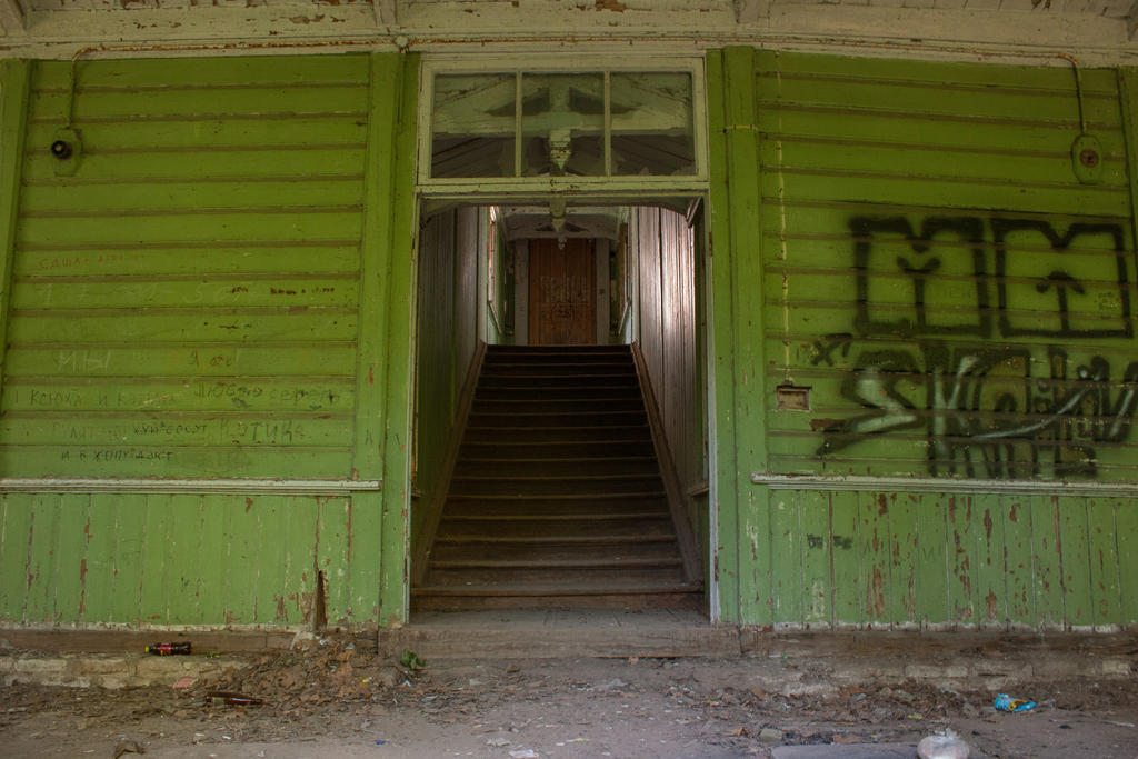 Abandoned 4 by ManicHysteriaStock