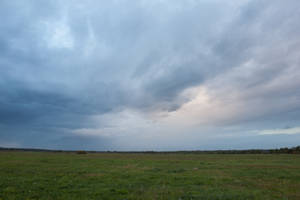 Stormy Sky Field by ManicHysteriaStock